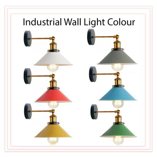Modern Vintage Industriel Mural Lumière rustique Appliques lampe luminaire lumière UK