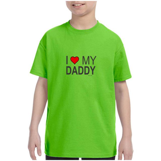 CafePress I Love My Dad Kids T Shirt Kids Light T-Shirt 54572982