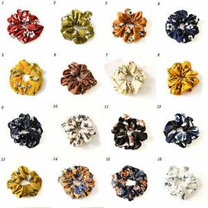 Hair-Scrunchie-Ponytail-Holder-Hair-Ties-Rope-Elastic-Flower-Hair-Band-Jewelry