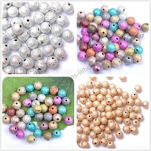 Mixed-Stardust-Acrylic-Round-Ball-Charms-Spacer-Beads-DIY-4MM-6MM-8MM-10MM-12MM