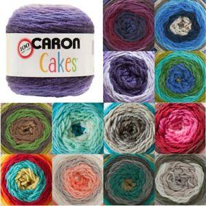 Caron-Cakes-The-Original-Aran-Yarn-Knitting-Crochet-Crafts-200g-Ball-Wool