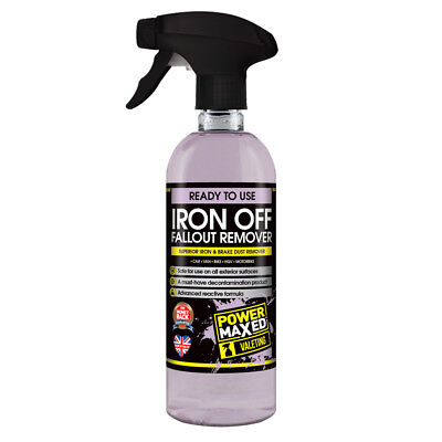 Power Maxed Iron Off Fallout Remover - PMFR500P1 - 500ml