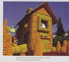 2006  --  LA FETE DU CITRON DE MENTON EN 2003 ALICE AU PAYS DES MERVEILLES 3G556