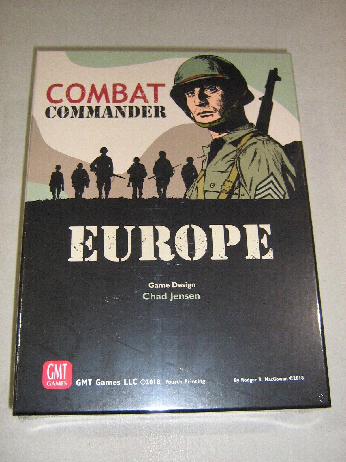 Combat Commander  Europe - Fourth Printing (New)