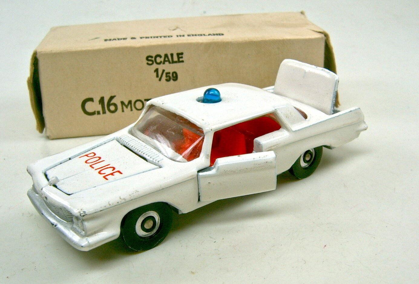 descuento Lone Estrella Impy nº 16 Chrysler Imperial blancoo    motorway Police  top en Box  calidad de primera clase