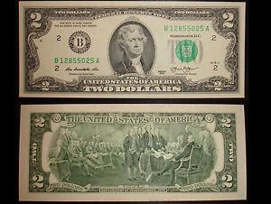 2 Dollar Schein New York (B) 2013 UNC. – Two Dollars New York (B) USA unc. - München, Deutschland - 2 Dollar Schein New York (B) 2013 UNC. – Two Dollars New York (B) USA unc. - München, Deutschland