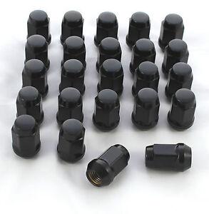 24-BLACK-WHEEL-NUTS-NISSAN-PATROL-MK-MQ-GQ-GU-12-x-1-25mm