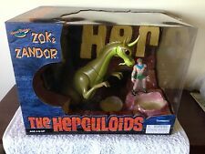 Herculoids Zok and Zandor Box Set ,,  very nice