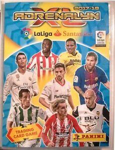 Adrenalyn-XL-LaLiga-2017-2018-Spanish-Football-Full-Set-580-cards-Panini