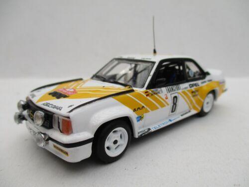 Opel Ascona 400  Rally Monte Carlo 1980 #8  Vitesse  1:43  OVP  NEU
