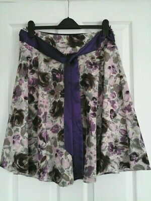 100% True Dorothy Perkins Skirt Skirts Floral With Silky Belt,size 12.nwt. Clothing, Shoes & Accessories