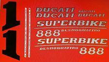 DUCATI 888 MODEL SP5 PAINTWORK DECAL KIT