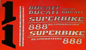 DUCATI-888-MODEL-SP5-PAINTWORK-DECAL-KIT