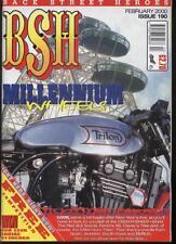 BSH THE EUROPEAN CUSTOM BIKE MAGAZINE - February 2000
