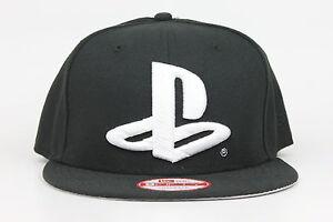 730bf273d01 Playstation Sony PS Logo Black White Gray New Era 9Fifty Snapback ...