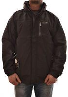 Regatta Corey 3 In 1 Mens Waterproof Jacket Raincoats Black Isotex Rmp002