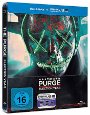 The Purge: Election Year - Limited Steelbook Edition (Blu-ray+UV Copy) NEU&OVP!