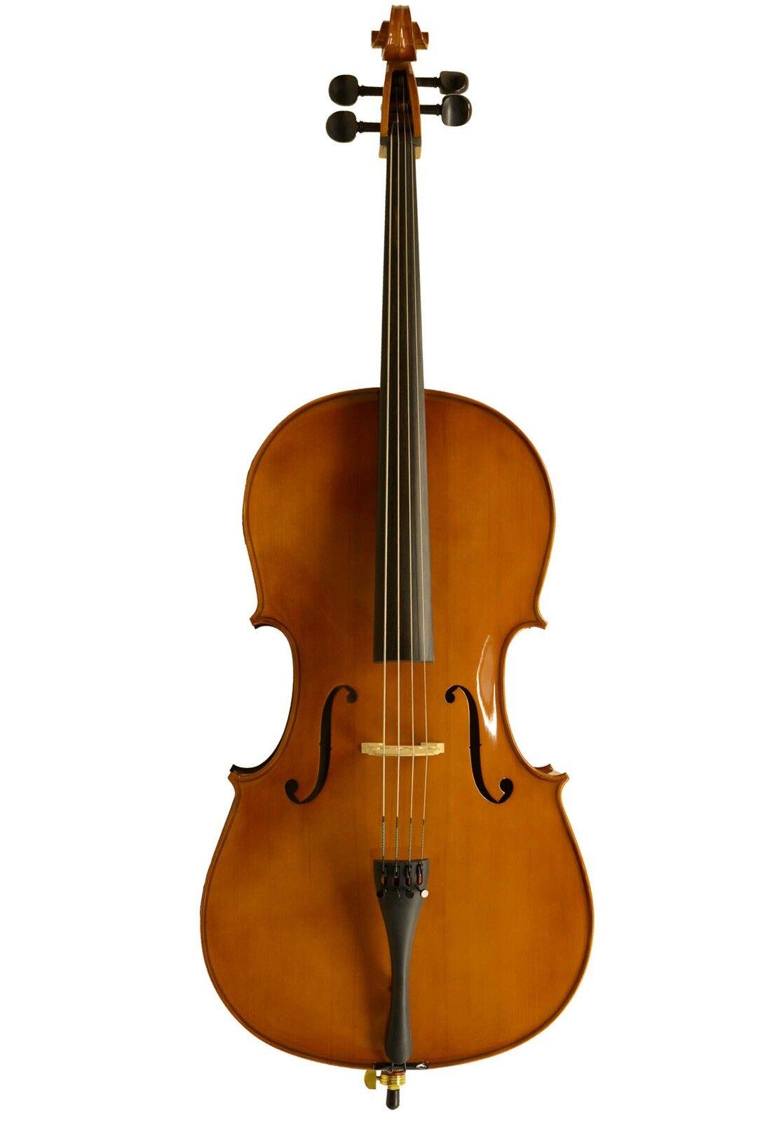Einsteiger Cello-Set in Bernstein (Basic (Basic (Basic II) inkl. Tasche, Bogen, Kolophonium eeac9c
