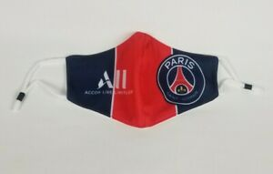 Paris Face Mask Reusable Washable One Size Fits Most Psg Ebay
