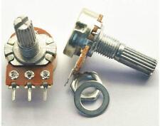 5pcs B10K WH148 20mm Shaft Mixer Variable Resistors Mono Potentiometer #M302-3