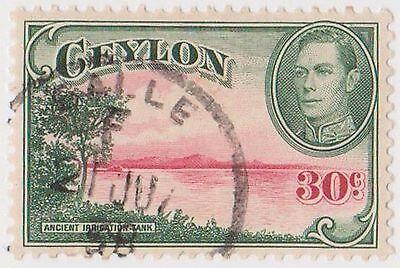 Reliable d Exquisite Craftsmanship; q6-156 1935 Ceylon 30c Red& Green Kgvi