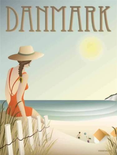 Vissevasse Dänemark Strand Poster