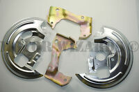 Disc Brake Caliper Mounting Brackets+dust Shields/plates 64-72 Gm A,f,x