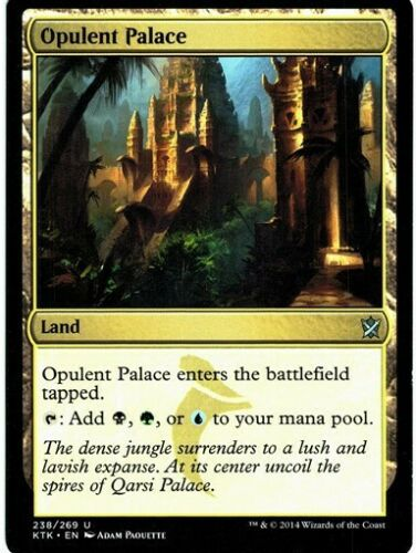 MTG 4x Opulent Palace-Khan of Tarkir triple pays *