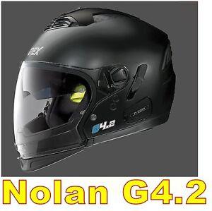 HELMET-NOLAN-GREX-G4-2-N-COM-EX-N43E-AIR-MATTE-BLACK-COL-2-Size-034-XXL-034-FLAT