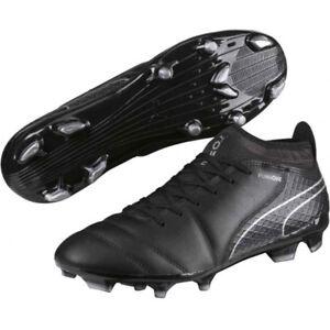d07e4aa20 PUMA Men s ONE 17.2 FG Football Boots - Various Sizes - Black - New ...