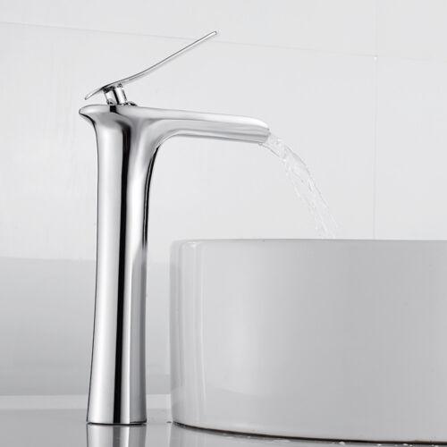 Design Waschtischarmatur Waschbecken Wasserfall Mischbatterie Bad Wasserhahn