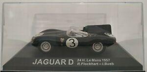 1-43-JAGUAR-D-24H-LE-MANS-1957-R-FLOCKHART-I-BUEB-IXO-ALTAYA-COCHE-A-ESCALA