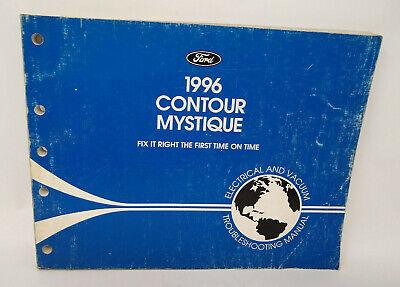 OEM 1996 Ford Contour / Mercury Mystique Wiring Diagrams Electrical Manual    eBayeBay