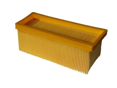Flachfaltenfilter Faltenfilter für Kärcher A 2801 2701 3001 wie 6.414-498-0 F4