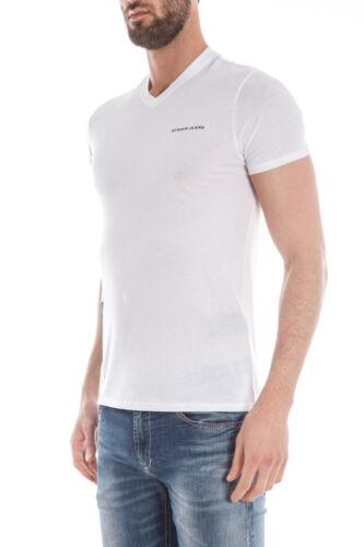 Uomo Shirt Cotone 10 Armani T Bianco Sweatshirt Maglietta C6h17ll Jeans wqYHXpOx