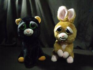Feisty-Pets-Katy-Cobweb-Black-Cat-8-034-Plush-2017-WMC-vicky-rabbit-bunny-brown-lot
