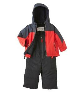 83406b1a2 CARTER S® Baby Boys 12M Two-Tone Jacket   Snowsuit Set NWT  90 ...