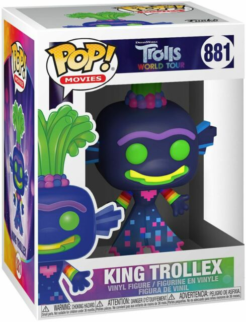 Trolls-Monde Tour Branch Figure POP Films