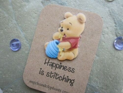 Cross Stitch Needle Minder Magnetic Embroidery Needle Keeper Winnie the Pooh