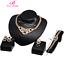 Prom-Wedding-Bridal-Party-Rhinestone-Ring-Bracelet-Necklace-Earring-Jewelry-Set thumbnail 13