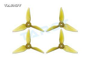 Tarot-3031-3-inch-Tri-Blade-Yellow-Propellers-2xCW-CCW-RaceKraft-Style-TL3E2-A