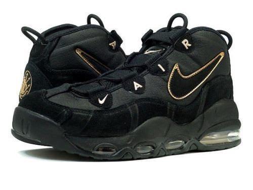 Nike Air Max Uptempo Black Metallic Red Bronze Scottie Pippen 311090-003 Size 11