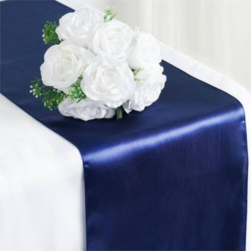 X5X10 Bulk Satin Sequin Table Runners Cloth Party Wedding Event Home Decoration