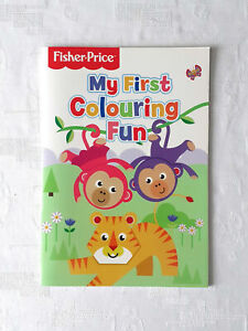 Colouring-Book-Fisher-Price-Mattel-My-First-31-Animal-Pictures-Kids-Activity