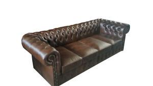 Chesterfield-2-7m-XXL-Big-Sofa-Leder-Couch-80cm-Sitztiefe-Polster-Sofas-Garnitur