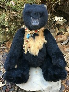 RARE-ALISTAIR-Quality-Artist-Alpaca-Mohair-Wolfish-Teddy-Bears-MG-RODRIGUES-OOAK