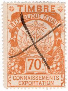 I-B-Haiti-Revenue-Customs-Duty-70c-External