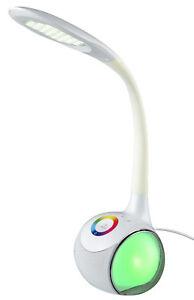 LED-Lampara-de-escritorio-con-Altavoz-RGB-CAMBIADOR-COLOR-MESA-Dimmer-tacto