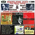 """Dixieland Jazz: Four Classic Albums Plus by Henry """"Red"""" Allen/Dixieland All Stars (CD, Sep-2009, 2 Discs, Avid)"""