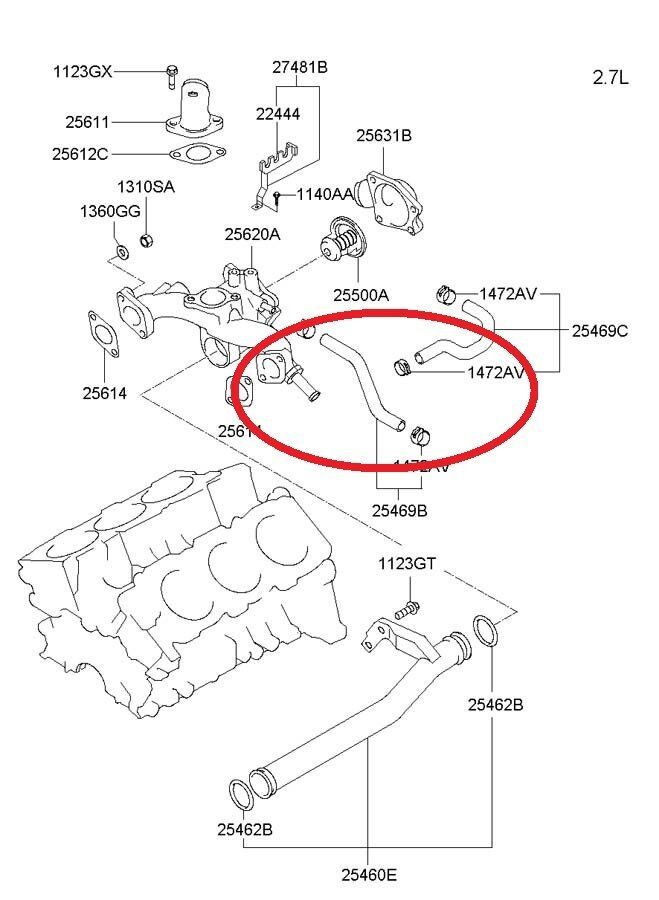 Hyundai Tiburon Throttle Body